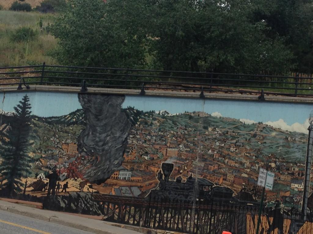 Black Hawk, CO Mural