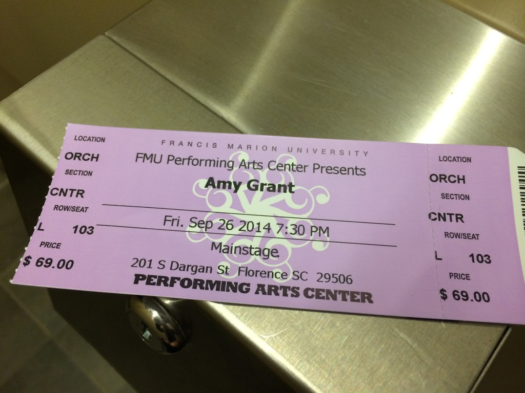 amy grant florence sc