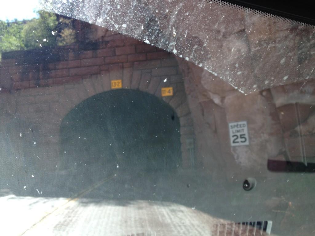 Zion tunnel