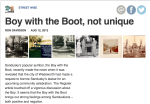 Boy With the Boot