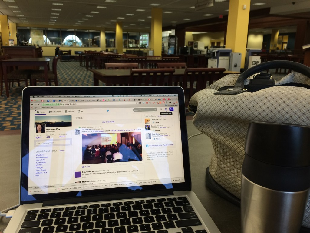 library coffee