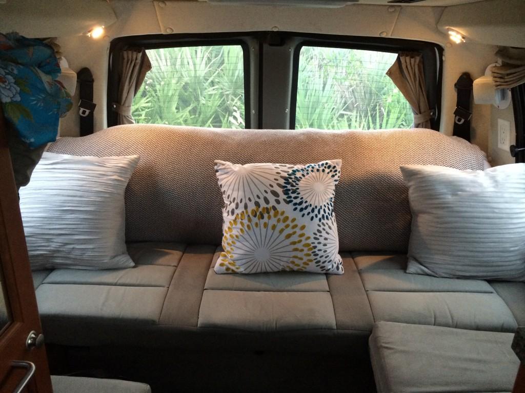 roadtrek living room