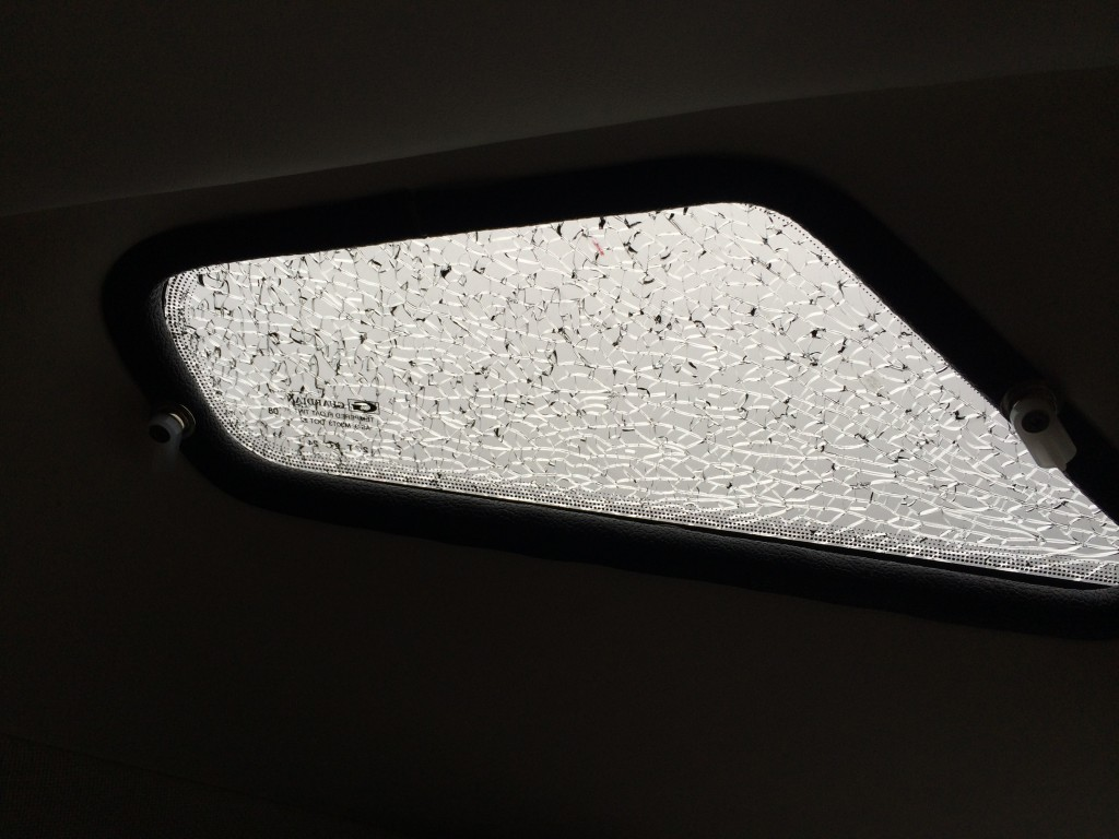 roadtrek skylight