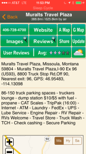 allstays truck stop review